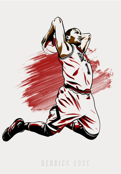Not biggest D-Rose fan but this is sick