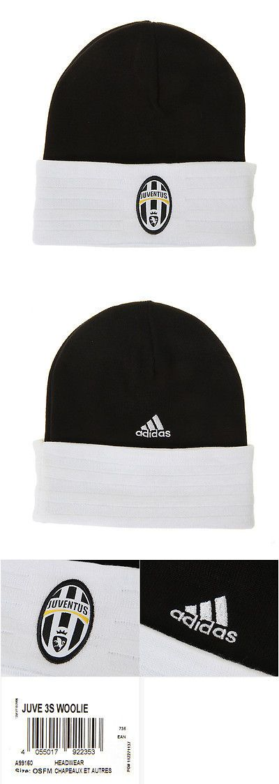 Hats and Headwear 123876: Adidas Juventus Fc 3S Winter Beanie Woolie Hat A99160 With Free Tracking BUY IT NOW ONLY: $34.19