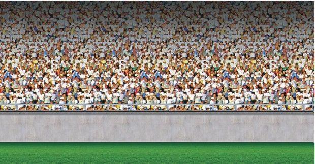 Best Sports Crowd Wall Mural Bedrooms Parties Baseball Racing Football Tennis Wall Murals Bedroom 400 x 300
