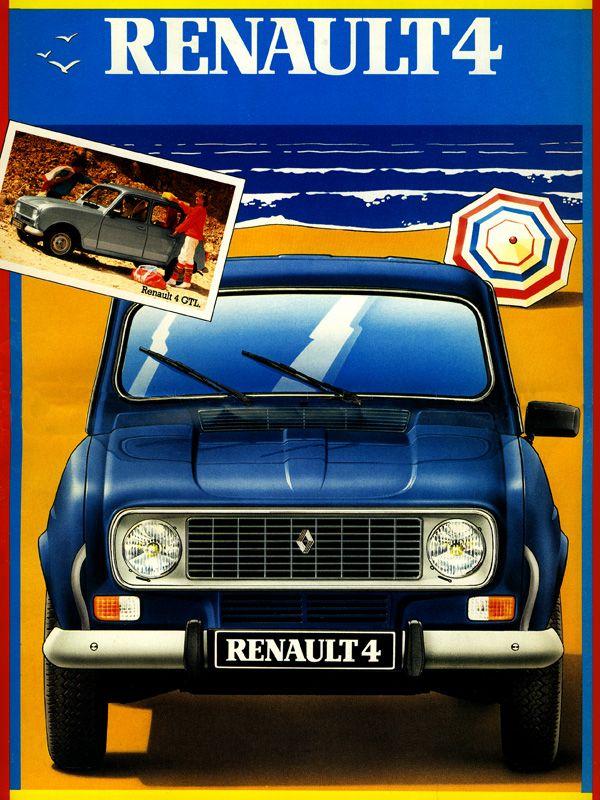 Brochure Renault 4L GTL