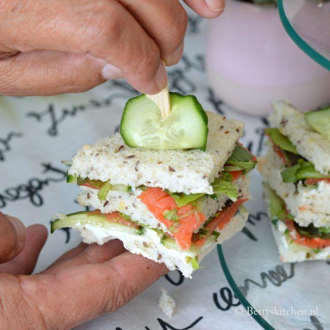 recept 3x high tea sandwiches glutenvrij schär betty's kitchen