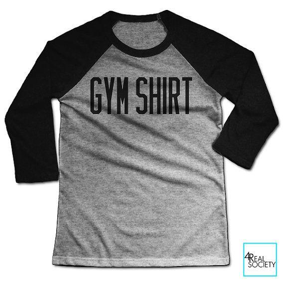 Chemise sport | T-shirt drôle | Collection fitness | T-shirt de Baseball unisexe