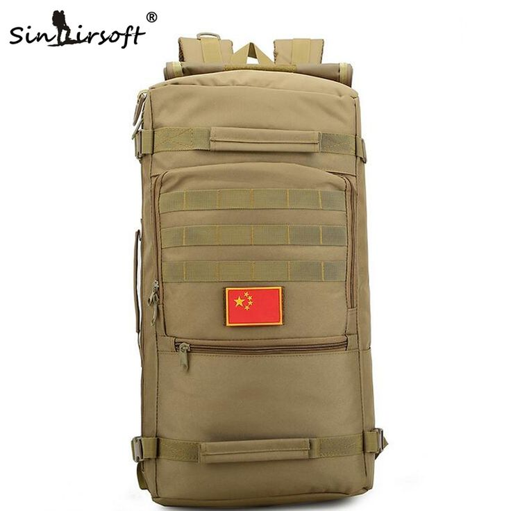 42.39$  Buy here - http://ali0z7.shopchina.info/go.php?t=32774954202 - Men's bags backpack Bags 50L water-proof military laptop bag wear-resisting travel package high quality fashion camouflage   #SHOPPING