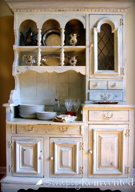 Simply Reinvented: Old White Dry Sink