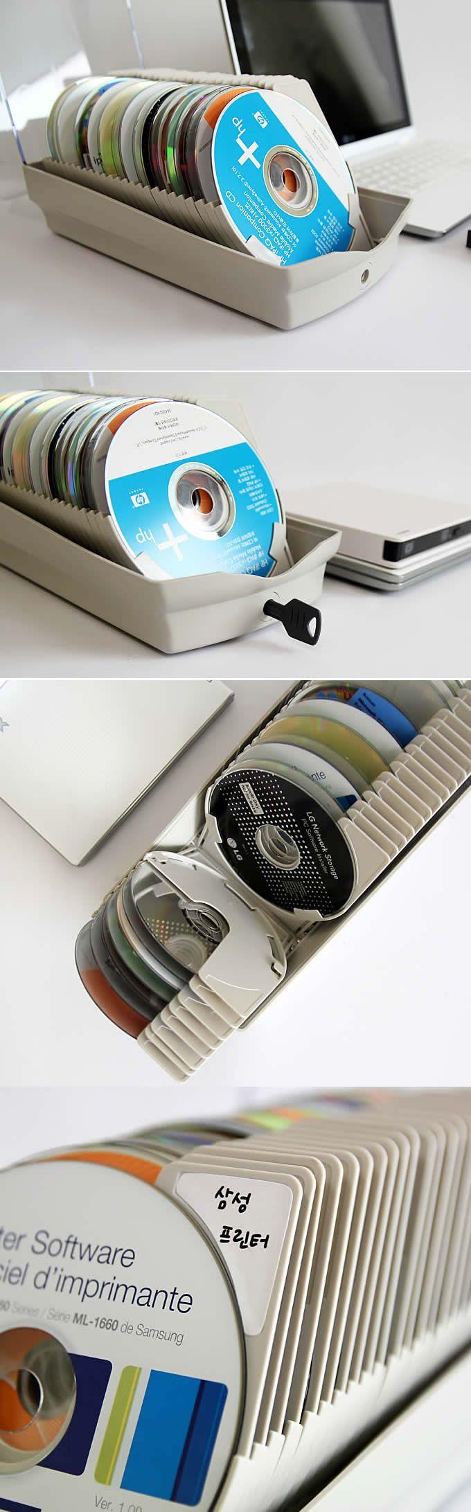 CD/DVD Storage Case,Holds 50/120 Disks