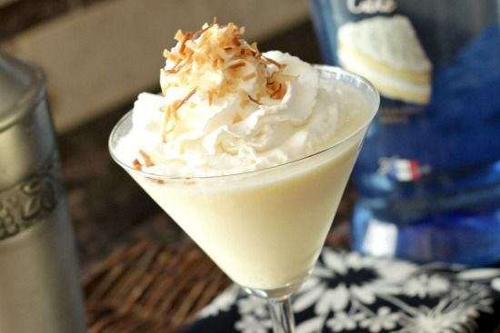 Better Than Sex CakeTini (You could call it a Wedding Cake Martini and serve it at a Bridal Shower!!!