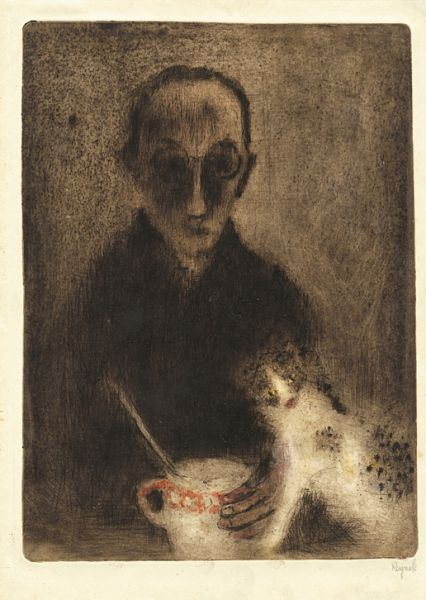 Bohuslav Reynek : Autoportrét