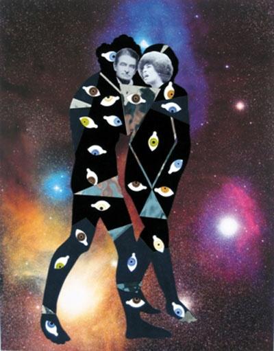 William Villalongo, John & Angela at Antares and Reflection Nebula in the Rho Ophluchus Dark Cloud, 2009  Courtesy of Susan Inglett Gallery, NYC