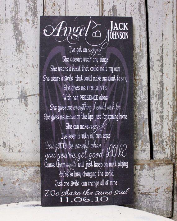 Wedding Song Art Song Lyric Art Jack Johnson by MadiKayDesigns