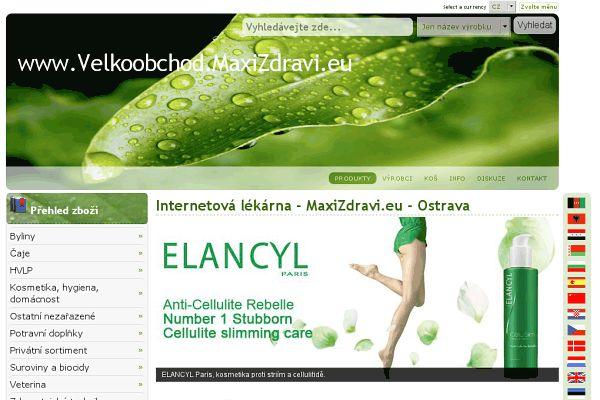 Velkoobchod.maxizdravi.eu (Provozovny) • Mapy.cz