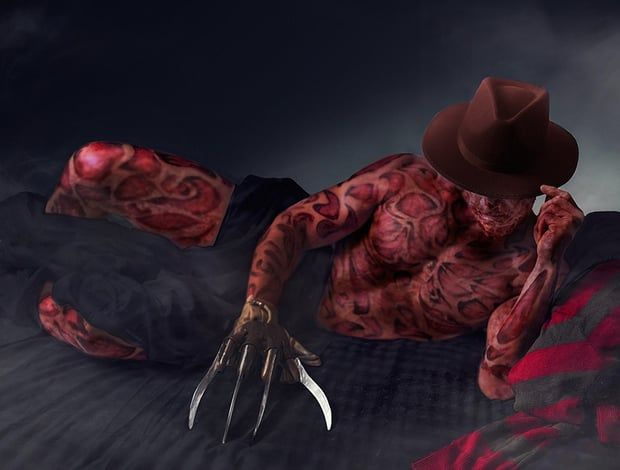 Krueger Got Cuter! Sexy Horror Icons Bare All For Hot Horror Calendar
