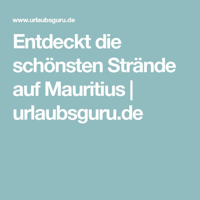 Entdeckt die schönsten Strände auf Mauritius   urlaubsguru.de