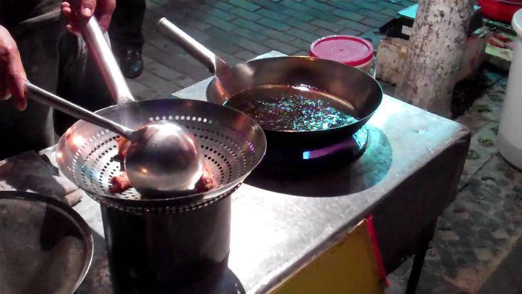 Shanghai street food - snake snack