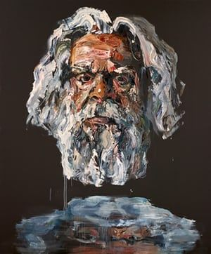 Archibald prize 2017: Gillian Triggs, Robert Forster and Lisa Wilkinson – in pictures  Actor Jack Charles  by Anh Do Photograph: Mim Stirling