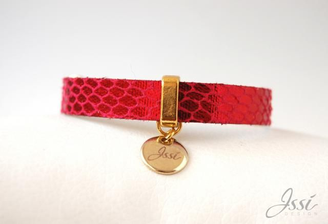 ISSI leather bracelet.  www.issi.com.pl