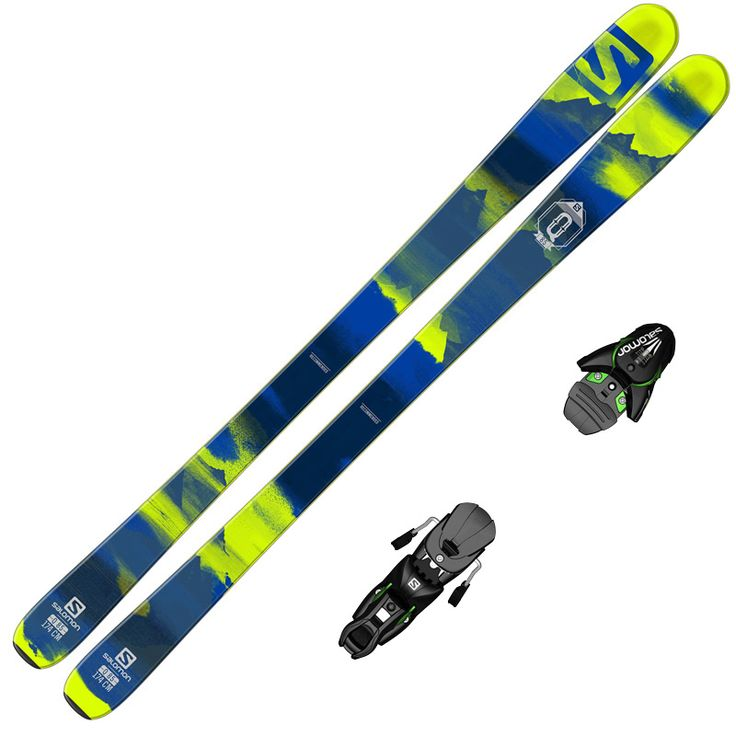 The Salomon Q-85 is a versatile all mountain ski designed for equal performance on and off-piste. Salomon's Utility Rocker is intended to handle variable terrain and soft snow, while the 85mm waist and full wood core helps retain solid ability on firm snow. We don't often see a ski with such even performance across the entire mountain, but the Q-85 is just that.