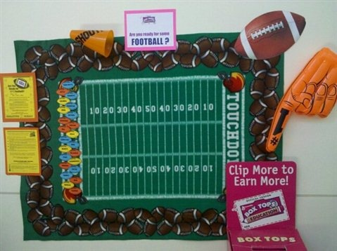 Love this for PTA membership and BoxTops.