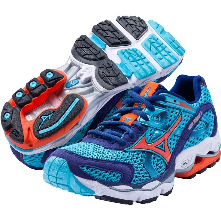 women's running shoes   Mizuno Wave Enigma 2 Women's Running Shoes - Capri/Ember/Blue Depths - I so want these!!!