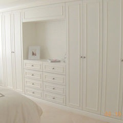 built-in for the bedroom