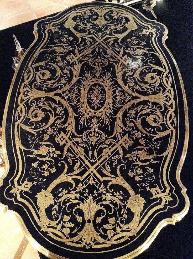 Table Bureau Boulle, Antiquités Lardanchet, Proantic