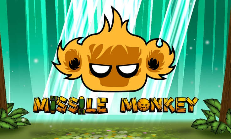 'Missile Monkey' indie iPhone game // available in the App Store May 17 // for iPhone, iPad, iPod touch