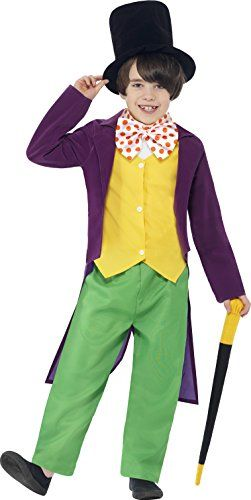 Get the best price from European Amazon. Smiffy's World Book Day Roald Dahl Willy Wonka Boys Fancy Dress Costume - Age 7-9 Years