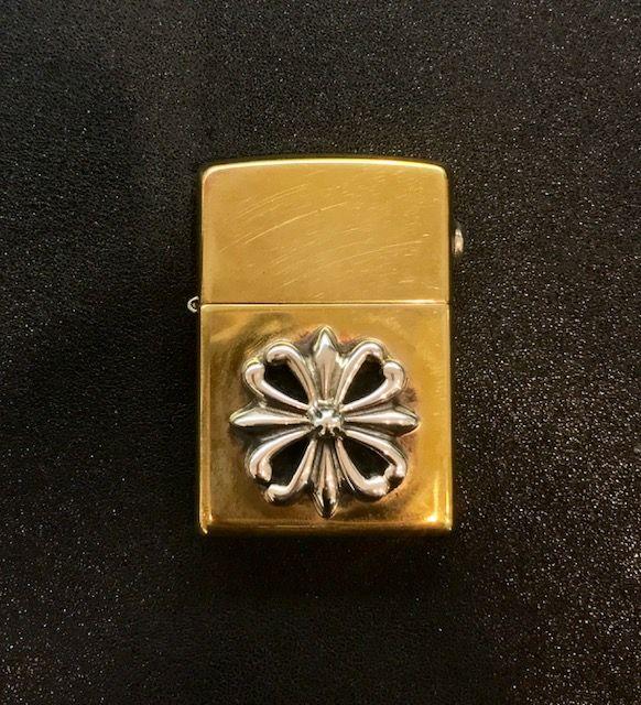 ZLB001 Brass zippo lighter with regal cross ¥58,320-(tax in)
