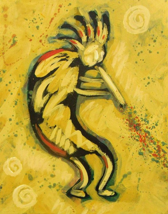 73 best Kokopelli images on Pinterest | Gourd art, Gourds and ...