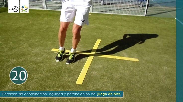 PÁDEL - JUEGO DE PIES - Coordinación y agilidad 12