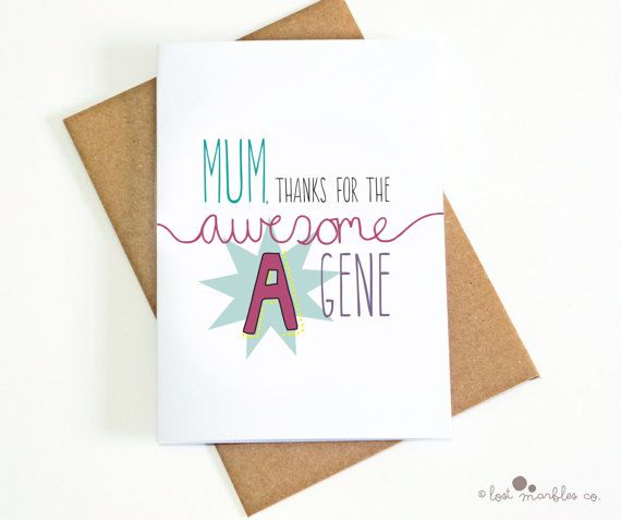 Funny Mum Card  For Mom  Mothers Day Card Mums Day  by Lost Marbles Co