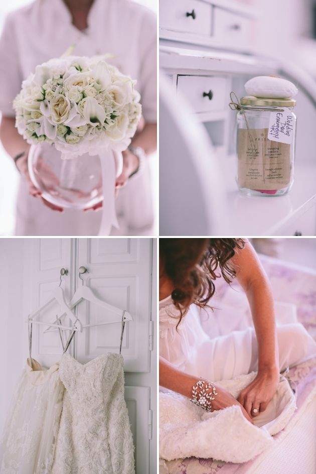 Wedding Emergency Kit for our Brides by Stella And Moscha Santorini - Greece Wedding
