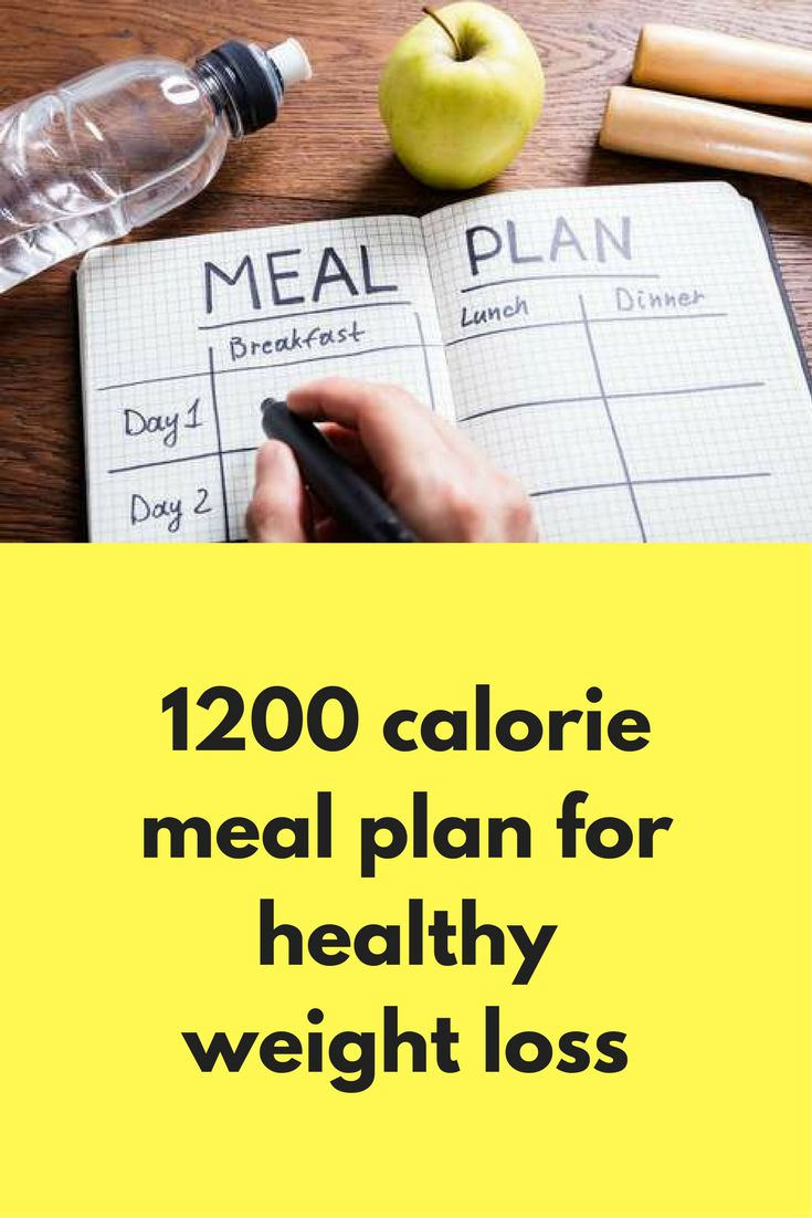 The Best Calorie Diet Plan Ideas On Pinterest - 1200 calorie meal plan for weight loss