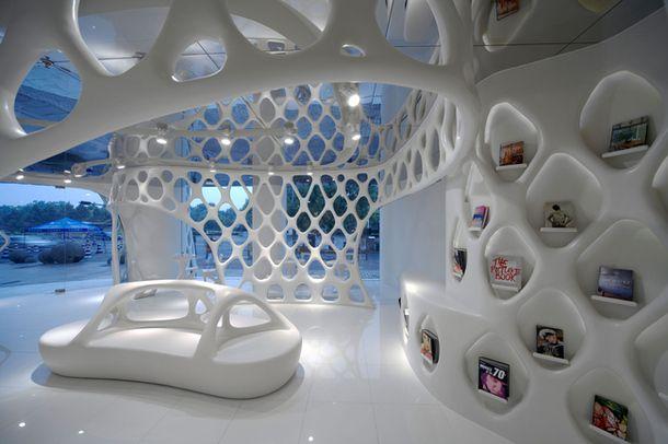 Интерьер магазина Romanticism в Ханчжоу по проекту бюро Sako Architects