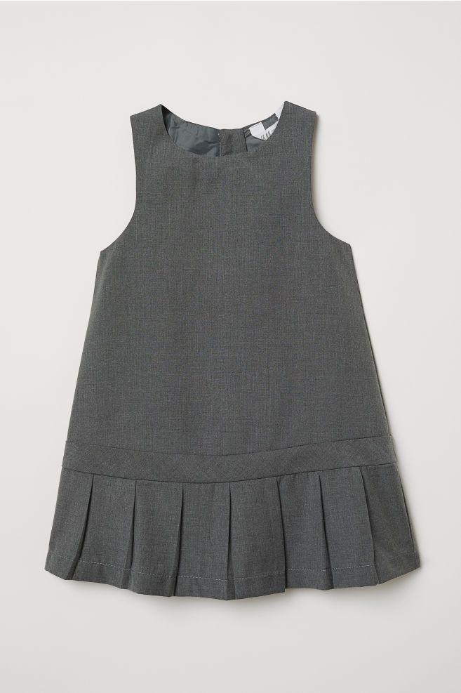 ec92992cf7 Plisowana sukienka - Ciemnoszary - Dziecko