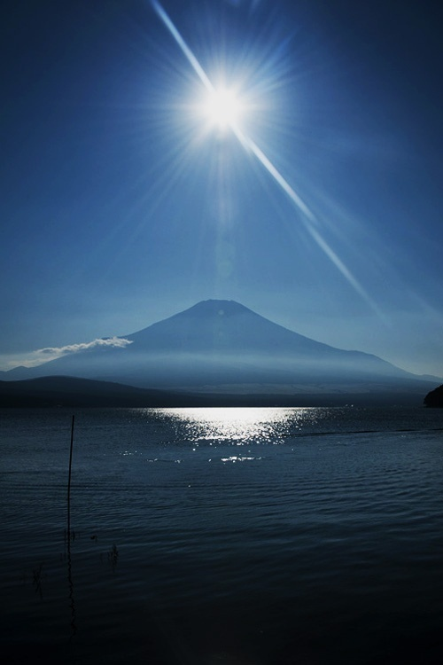 A very beautiful image of Mt. Fuji...