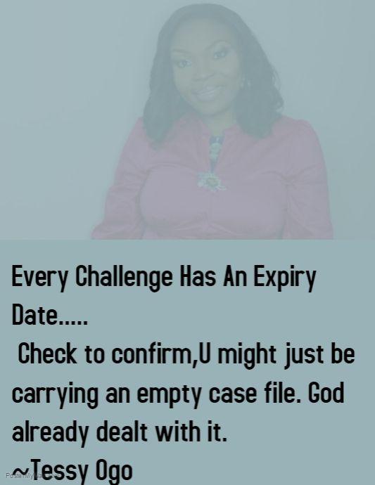 God already dealt with it
