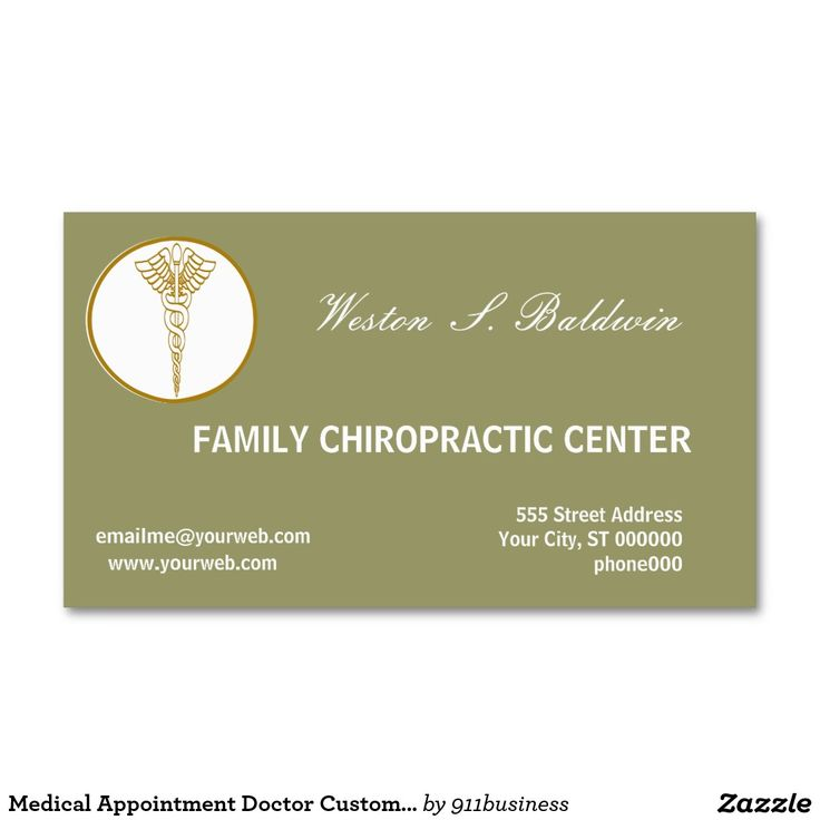 12 best Medical Themed Business Cards images on Pinterest - business card template for doctors