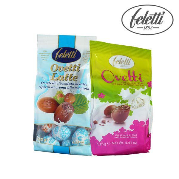 Ovetti di cioccolato al latte con un cuore cremoso di crema alla nocciola. Conf. gr.125/150 a soli € 0,99!!