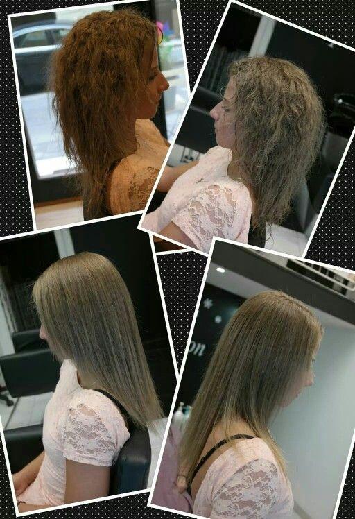 Keratinos hajegyenesítés, tartósan egyenes haj, akár 3 hónapon át. Jól hangzik? Bővebben: www.magdiszepsegszalon.hu