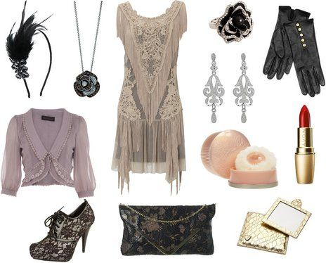 A recreation of 1920's fashion with modern clothing~ I absolutely love this. I feel like I belong in the 20's