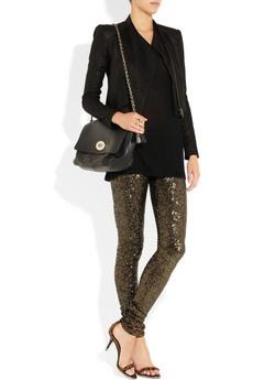 Sass & bide- #sequined leggings