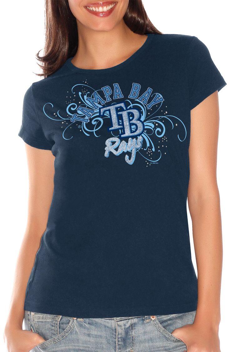 Shirt design tampa - Tampa Bay Rays Swirl T Shirt By G Iii Beallsflorida Gorays