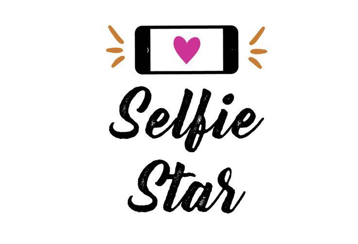 Selfie Star SVG File, selfie svg, svg saying, girly girl svg, beautiful svg, star svg, PNG, Cricut, Silhouette, Cut File Clip art by SoCuteDigitalDesigns on Etsy https://www.etsy.com/listing/526638605/selfie-star-svg-file-selfie-svg-svg