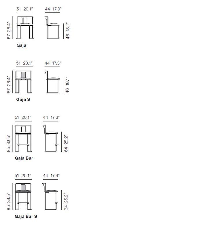 Gaja/gaja Bar di Kazuhide Takahama è un'icona dell'arredamento di design. Scopri i modelli e le caratteristiche dei mobili Cassina.