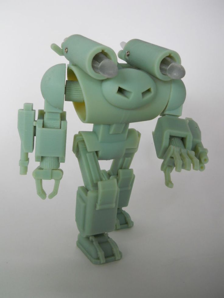 123D Design Fully Articulated Battle Robot Action Figure #3D_Printing #toy.Join the 3D Printing Conversation: http://www.fuelyourproductdesign.com/