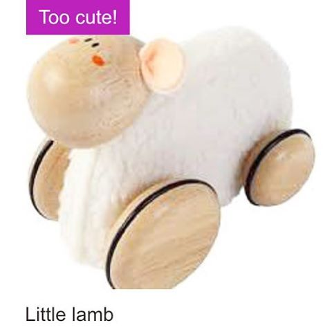 Jesus rode a donkey but Mary had a little lamb!  Little lamb available online now!