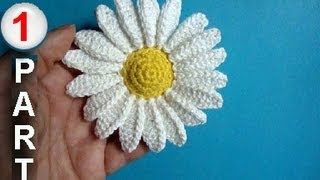 flowers crochet tutorial - YouTube