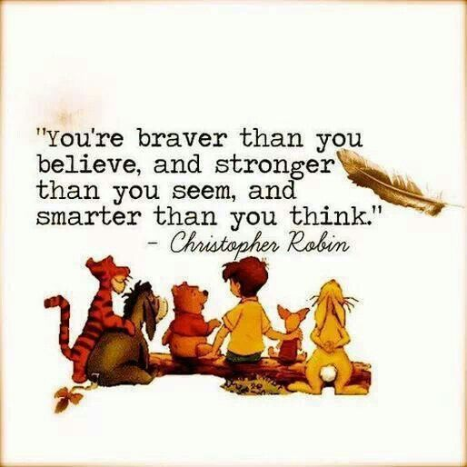 Christopher Robin quote (Winnie the Pooh)