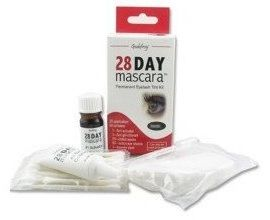 Godefroy 28 Day Mascara Permanent Eyelash Tint Kit - Brown