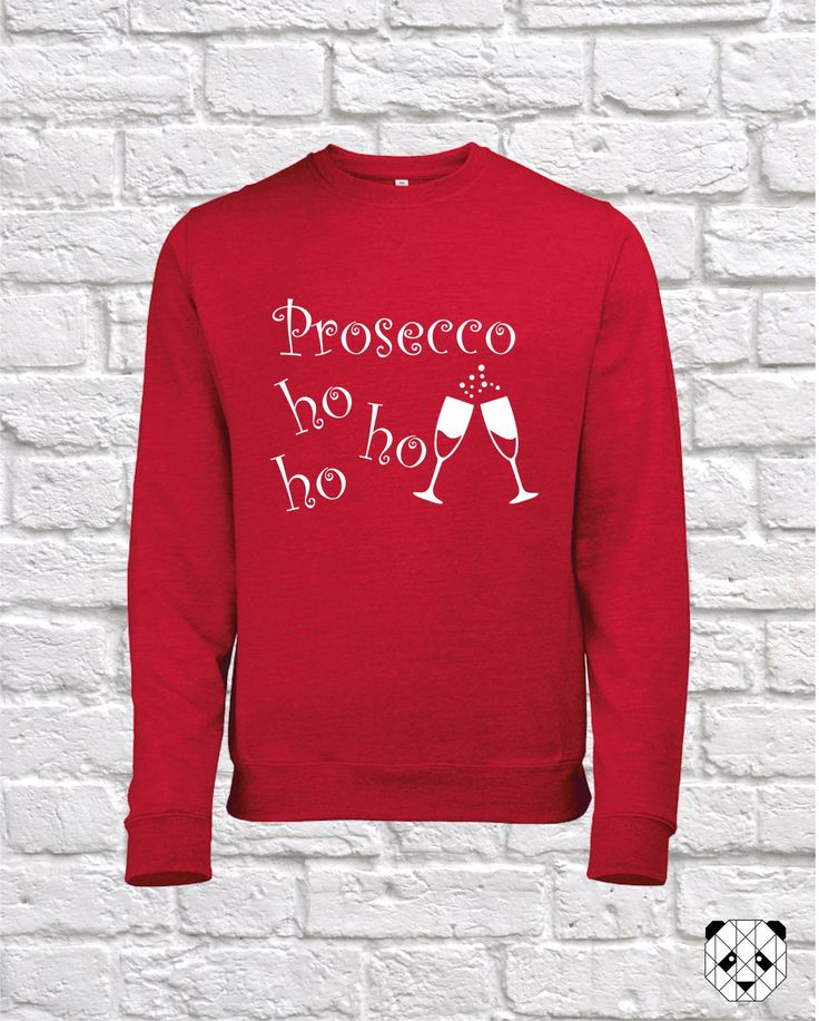 Funny Christmas Jumper, Prosecco......